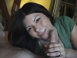 Loving Wife Makes Her Husband Shoot In Her Mouth