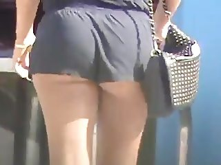 Candid Shorts and ASS cheeks 5