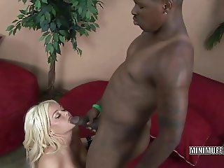 Busty slut Crista Moore gets her face loaded with jizz