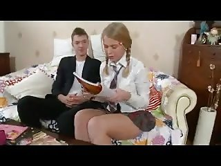 SB3 The Best Schoolgirl Hes Ever Taught !