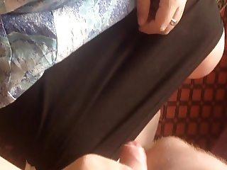 My mom cum bathrobe