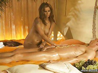 Massage From Golden Blonde MILF