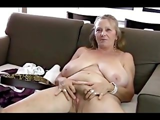 64yo granny shows all