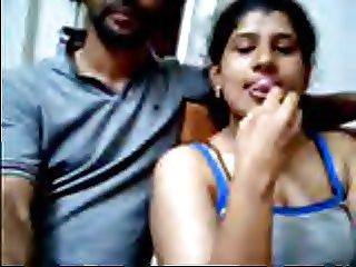 Ajay and Raveena Indian webcam couple