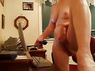 Showing Off My Pussy and Voice on Web Cam
