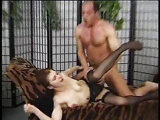 German NOT Dad and Daughter in Lingerie