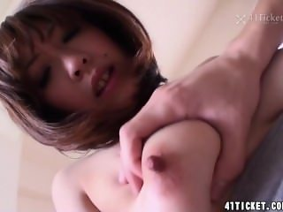 Saki Asaoka's Nipple Squeeze Special (Uncensored JAV)