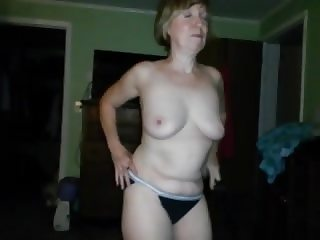 Mary's shaved pussy