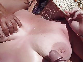 maspalomas part 4 of 5 strangers & my cock on tittys