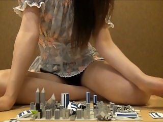 Cute asian giantess rampage 2