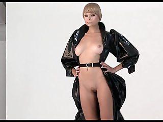 Luba Shumeyko - Nude Fashion Show
