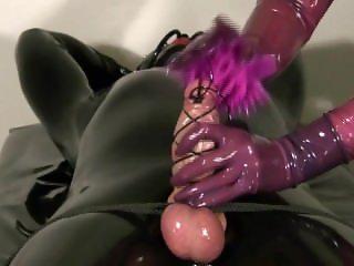 bondage Handjob Latex