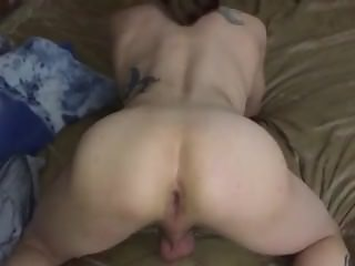 Skinny longhaired bitchboy from gets big black Brazilian cock 1