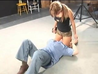 SVDL 184: My Independent Scissor Film (mixed wrestling with Lana)