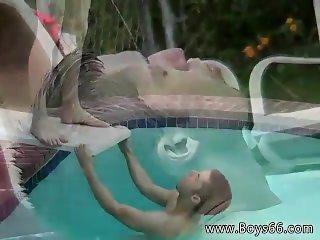 Gay black porn cincinnati Kaleb's Pissy Pool Party