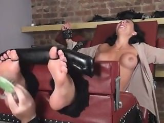 Mia is maid tickle bound