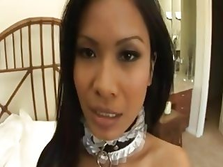 Priva a Asian Maid for Fucking