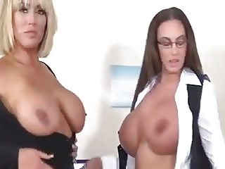 Emma and Morgan naughty secretaries