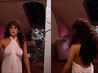 Marina Sirtis in Star Trek