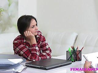 FemaleAgent Mutual masturbation and lesbian sex