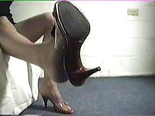 High Heel Dangling & Leg Crossing