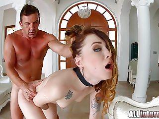 Allinternal Misha Cross in hardcore petite creampie sex