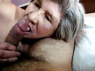 Latin Granny blowjob