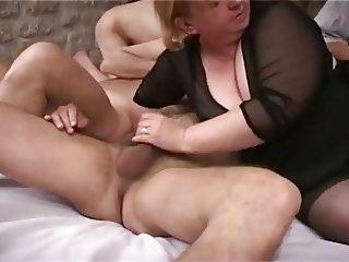 grosse salope et bi