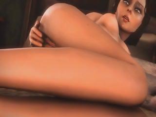 Bioshock Elizabeth Masturbating Anal Hentai [1080p]