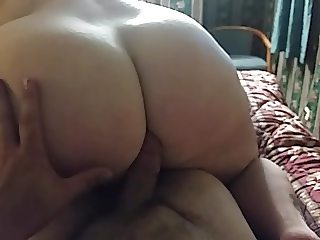 riding daddy with his thumb deep in my ass