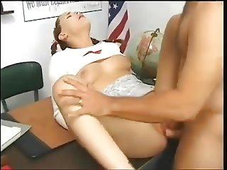 SB3 Schoolgirl Enjoys Her Punishment Fuck !