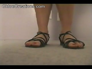 Prison giantess feet