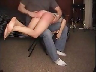 amateur spanking session