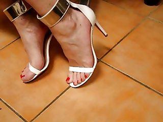 tx-milf white heels