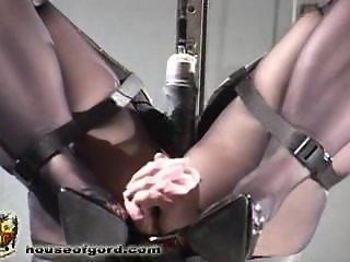 Inverted fuck machine