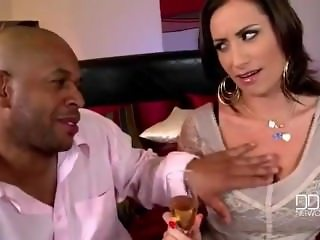 sensual Jane interracial scene
