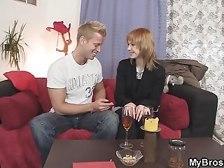 He finds girlfriend and friend fucking