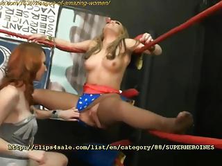 Superheroines at Clips4sale.com