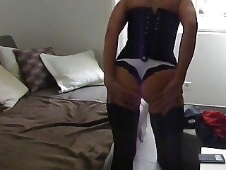 La miss en petite culotte