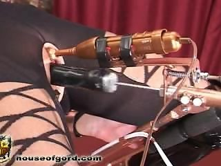 Ultimate bondage fuck machine
