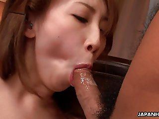 Asian bitch cumming hard and it's so damn dirty