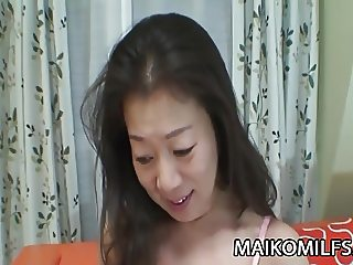 Yoshiko Makihara - Asian Mature Banging A Young Cock