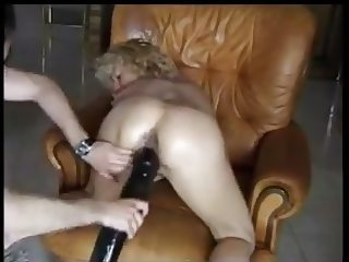 French sub ass and pussy fisted