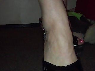 Pink toes in killer heels