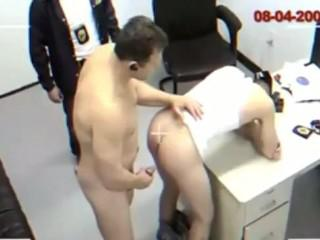 Fucking in Police Station