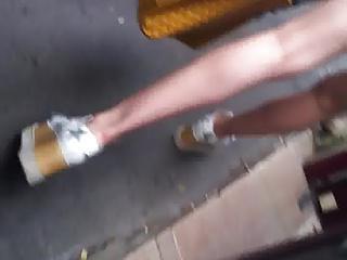 amazing ass in street