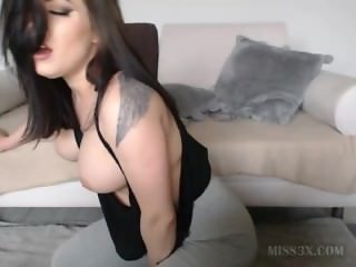 Horny beautiful girl orgasm smulate