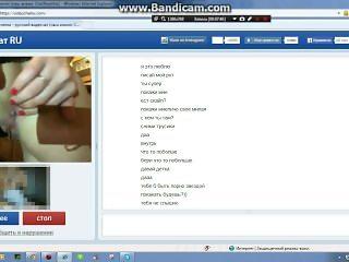 russian girl pissing on webcam