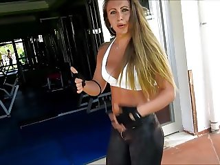 yes!!! fitness hot ASS hot CAMELTOE 28