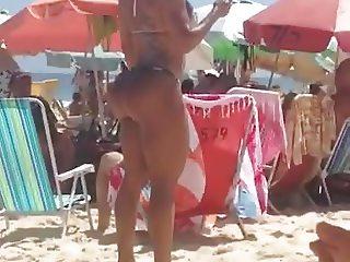Ass At The Beach